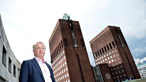 Henrik Christensen, styreleder i Norske Skog.