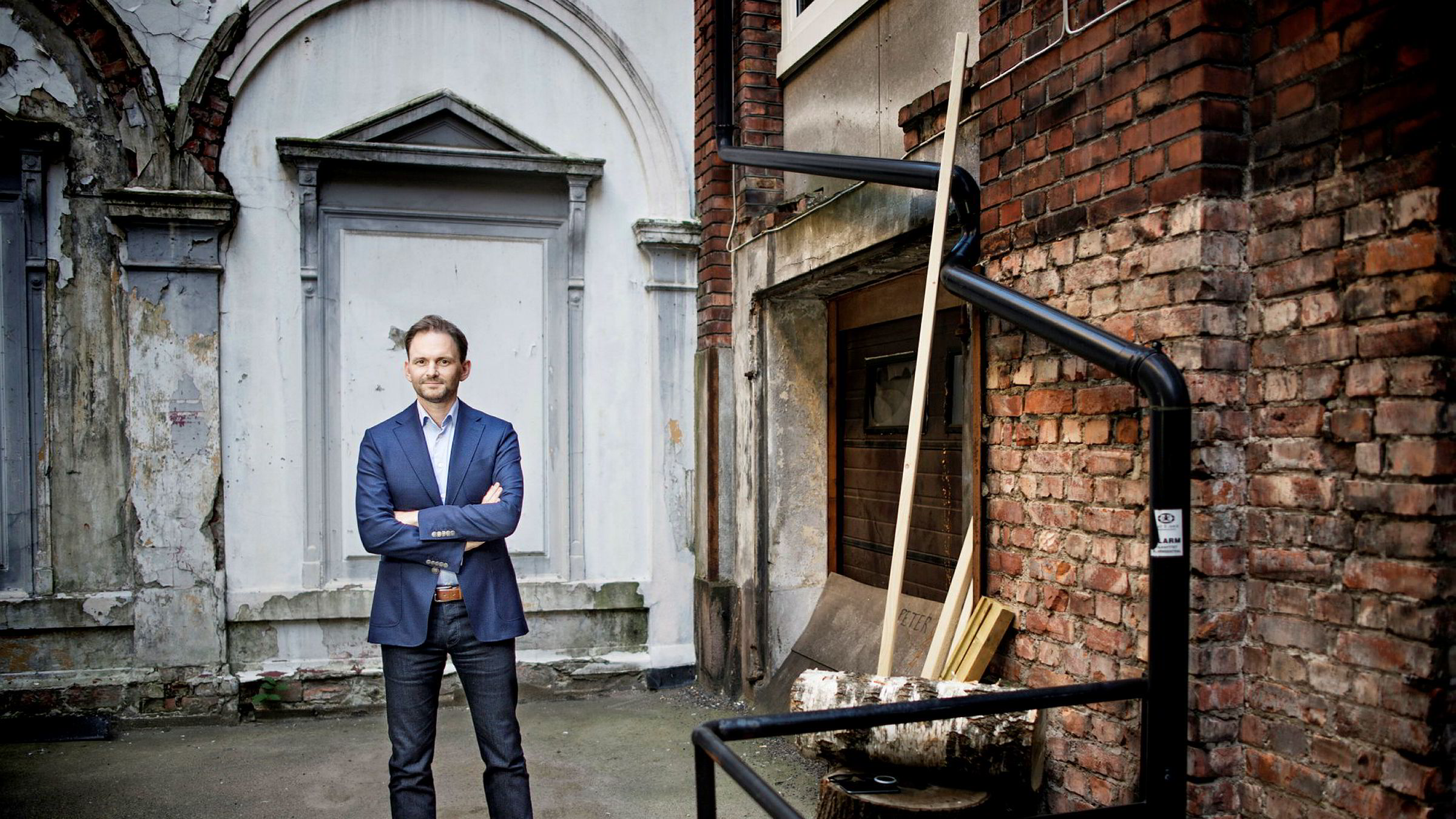 Konsernsjef John Tørres Thuv i Gyldendal trekker frem Arks 900.000 venner og 600.000 digitale lisenser i forlaget som en fremtidig nøkkel til inntekter.
