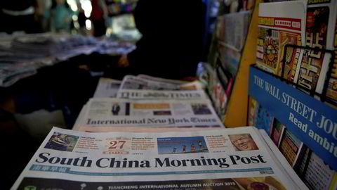 Storavisen South China Morning Post har ikke mye pent å si om Nobels fredspris.