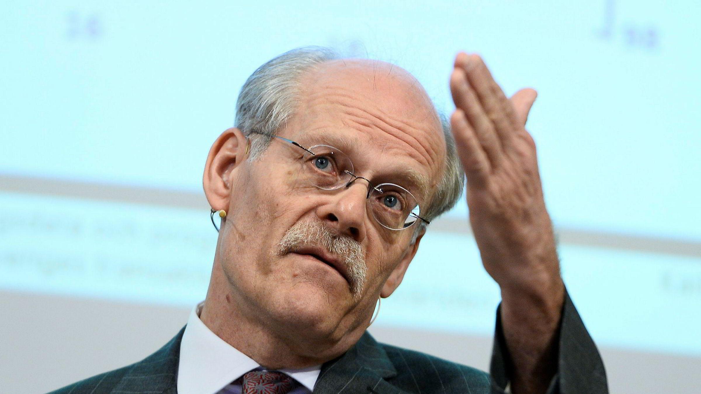 Sjefen for Riksbanken, Stefan Ingves, var med å feire bankens 350 årsdag fredag.