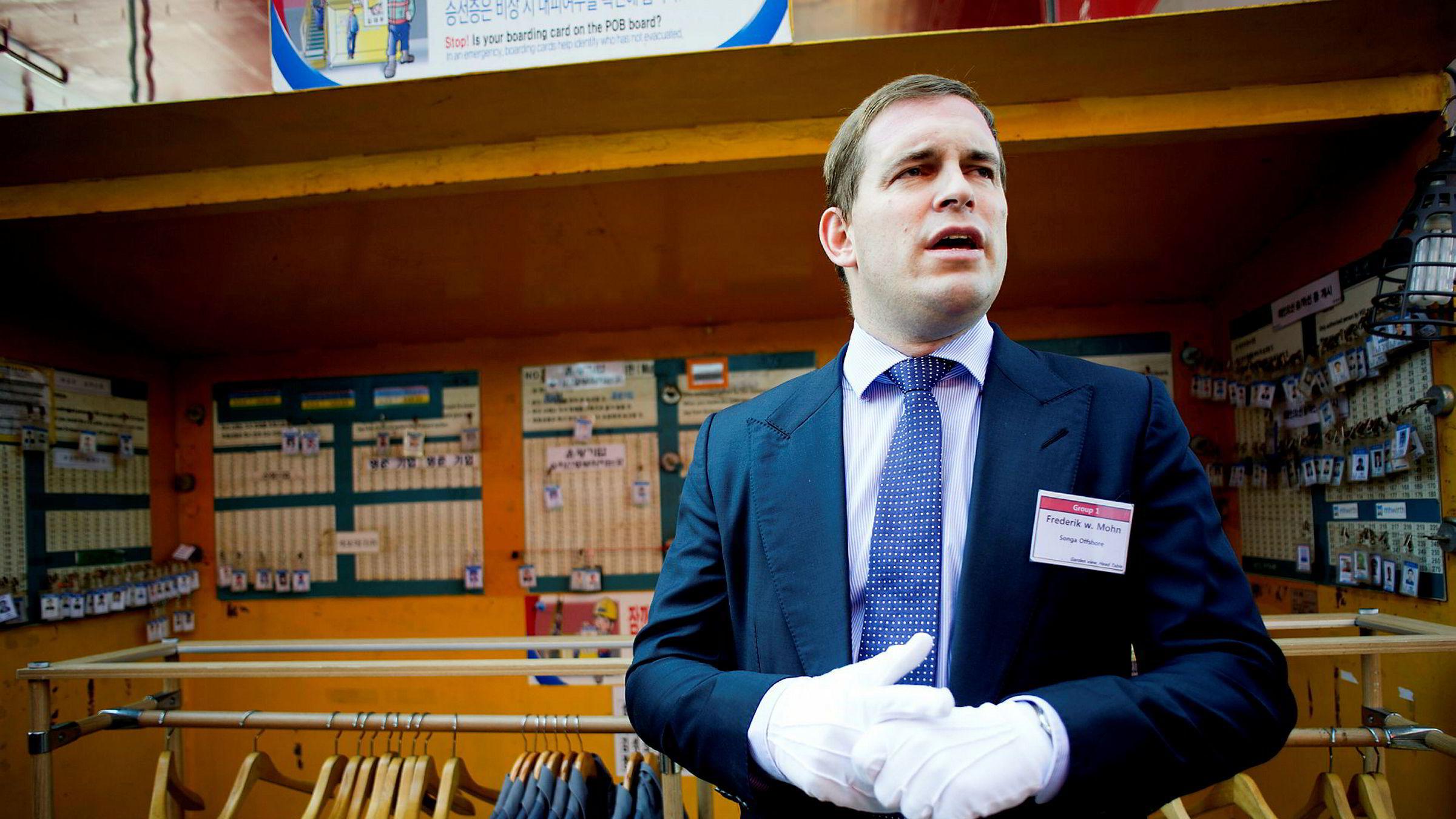 Frederik Wilhelm Mohn kjøper igjen aksjer i Pareto Bank etter å ha kvittet seg med 1,9 millioner aksjer i selskapet siden oktober.
