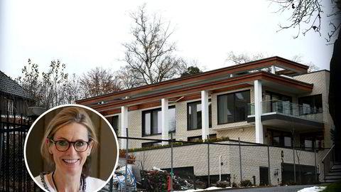 De to øverste leilighetene i Halvdan Svartes gate 7 er kjernen i striden mellom Grace Reksten Skaugen og utbygger Hax Eiendom.