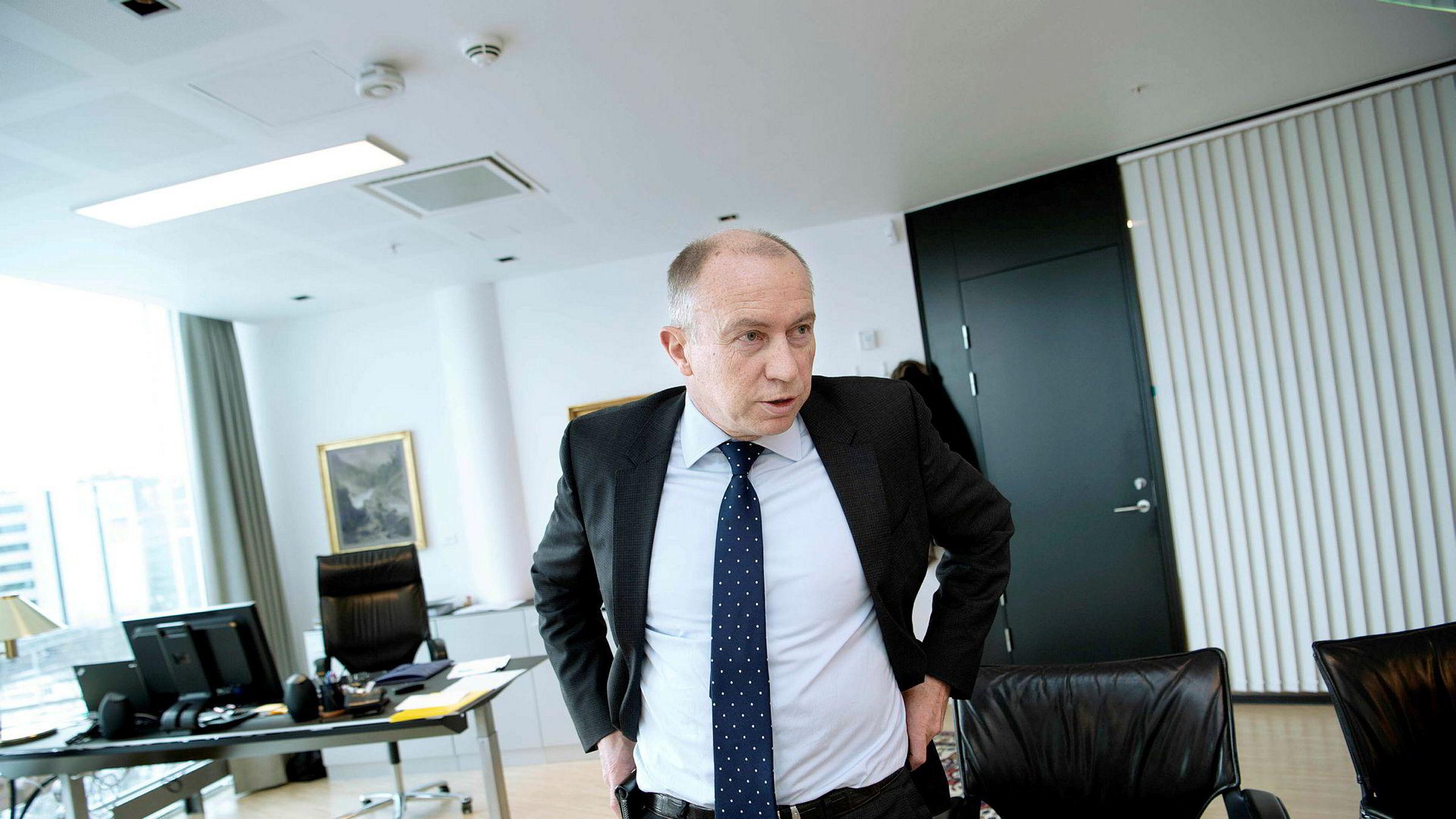 Christian Rynning-Tønnesen, konsernsjef i Statkraft.
