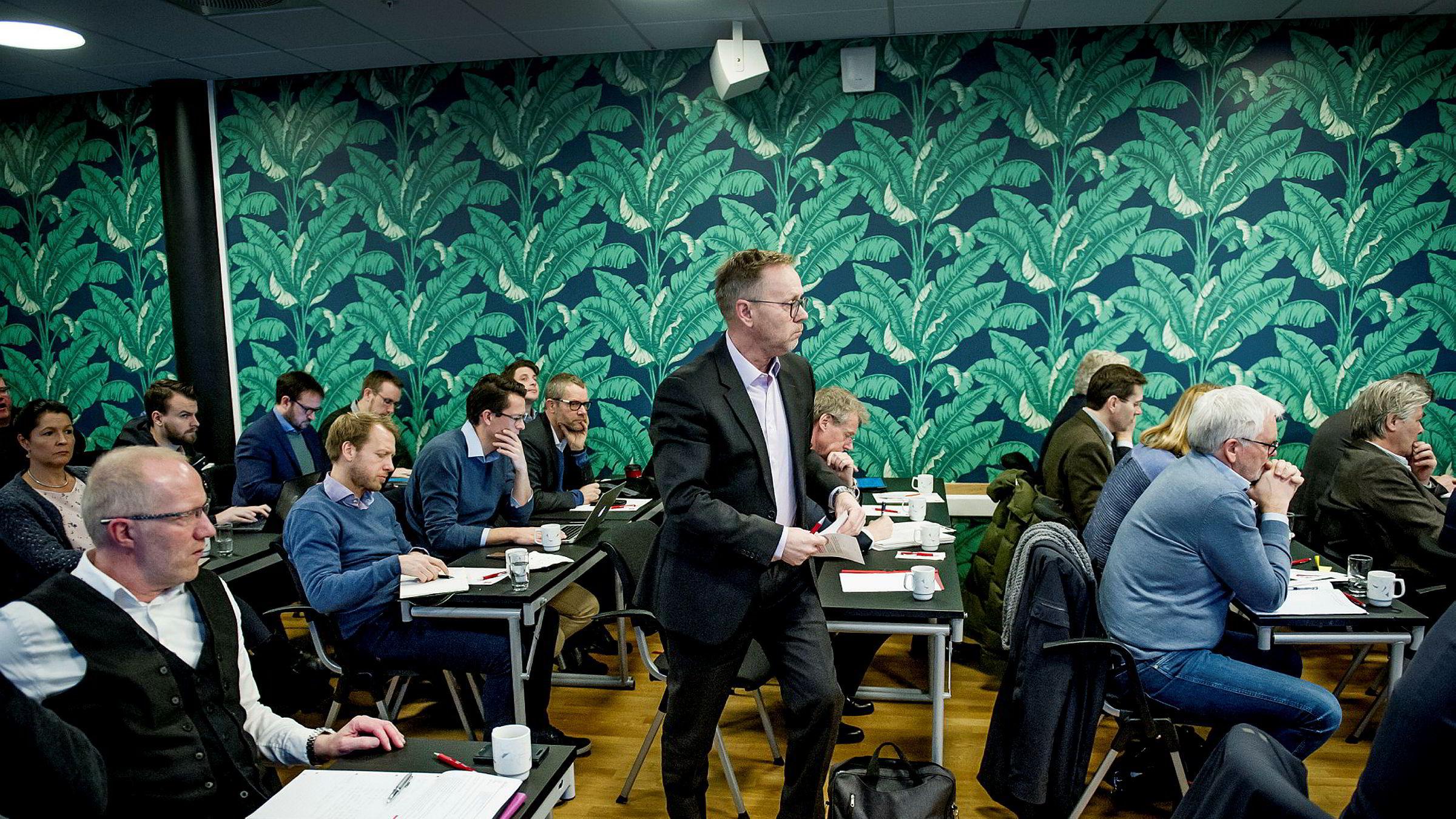 John Arne Markussen, ansvarlig redaktør i Dagbladet.