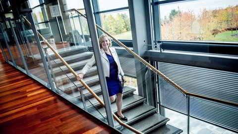 Administrerende direktør Berit Svendsen i Telenor Norge vil ikke reguleres av Nkom.