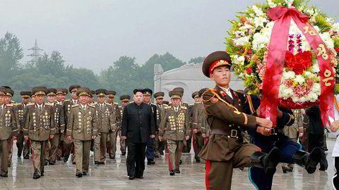 27. juli besøkte Kim Jong-un minnekirkegården i Pyongyang for de falne under Koreakrigen. Anledning var årsdagen for våpenhvilen fra 1953.