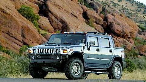 Hummers pickup var det ultimate macho-symbolet på fire hjul for 25 år siden. Nå kommer den med batteri.