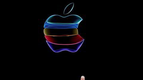 Apple-sjef Tim Cook, her fotografert i september i fjor.