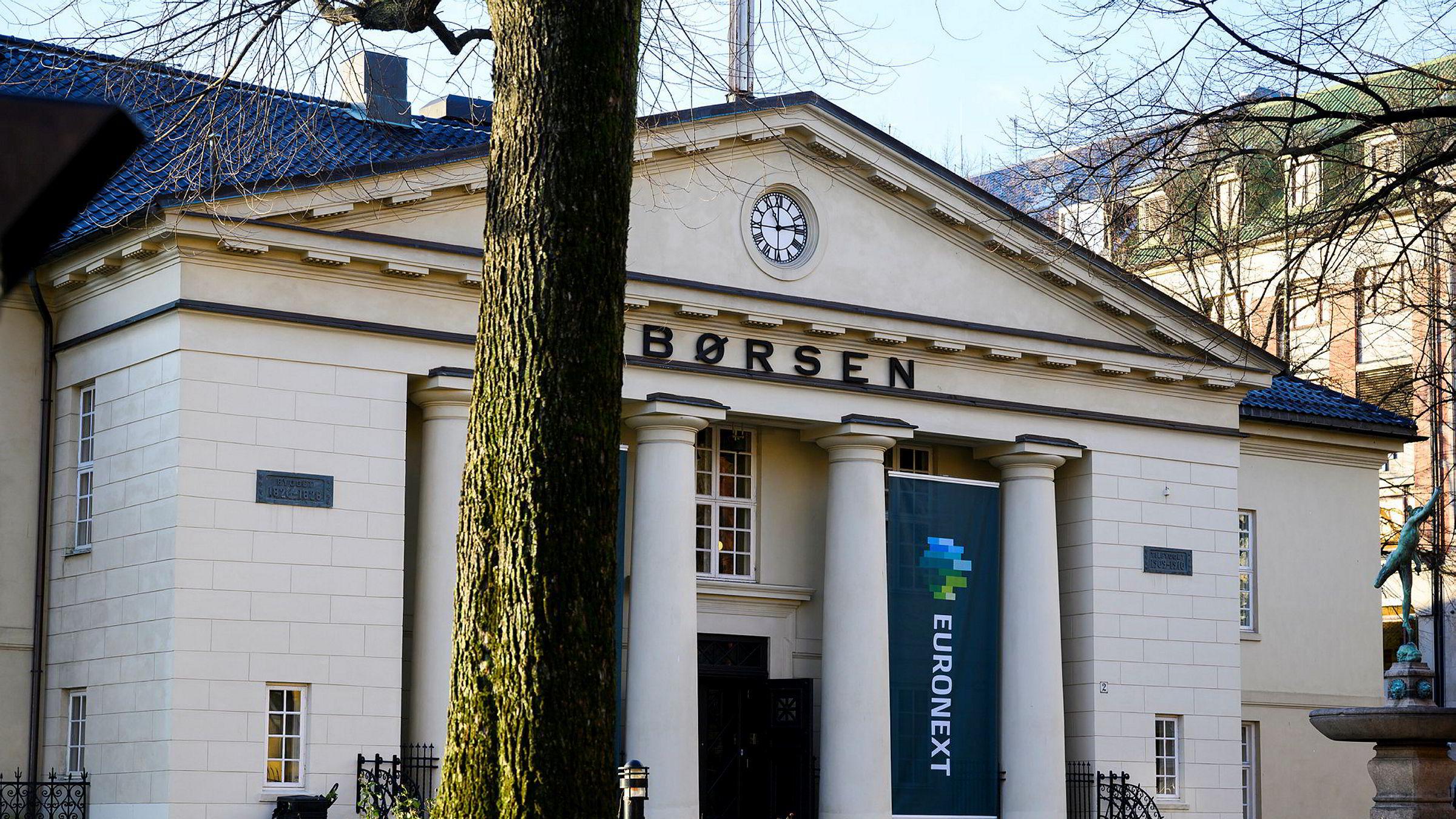 Det lukter korreksjon på Oslo Børs.