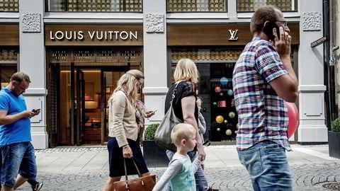 Louis Vuitton flyttet i 2016 inn i nyrenoverte og større lokaler i Nedre Slottsgate i Oslo.