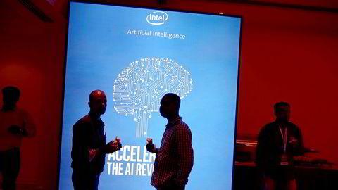 Ingen blir trolig uberørt av utviklingen innen kunstig intelligens (KI) de kommende årene. Bildet er fra en utsilling om KI i India tidligere i år.