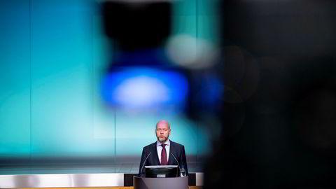 Yngve Slyngstad og Oljefondet har fått merke markedsfallet.