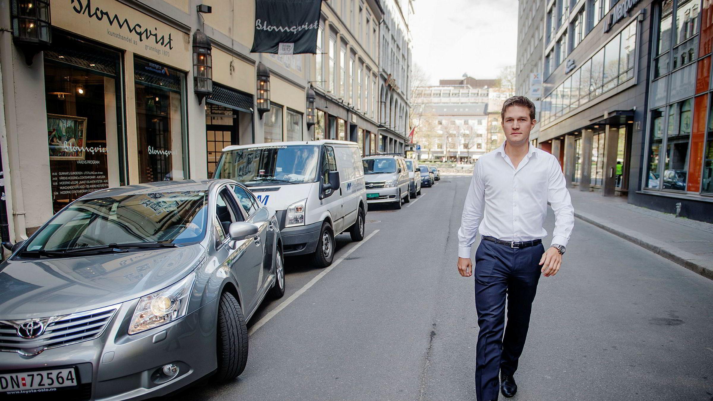 Sjef i Uber Norge, Carl Edvard Endresen.