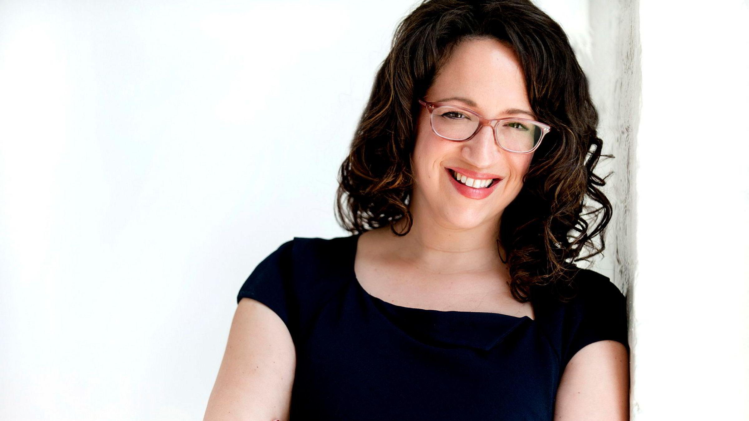 Amy Webb, fremtidsforsker, forfatter og grunnlegger av Webbmedia Group.