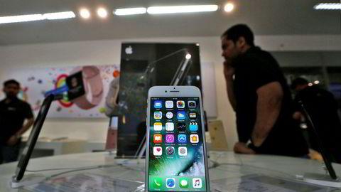 Apple utvikler egne prosessorer for Iphone-serien. Nå kan også de fremtidige skjermene komme fra Apple - med kontraktproduksjon ved asatiske fabrikker. En frem til nå hemmelig fabrikk i California tester ut en ny skjermtype.