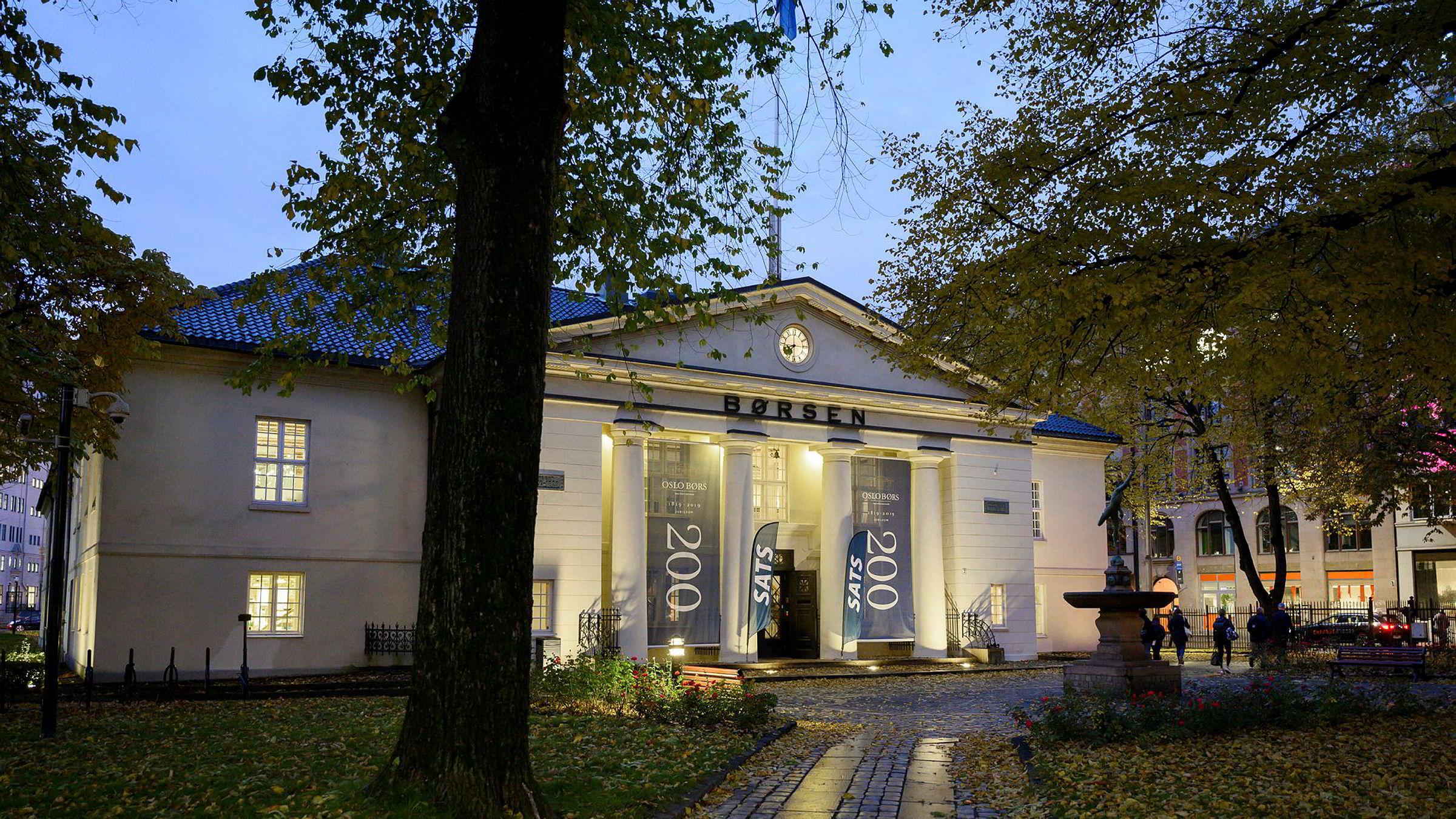 Tidlig jul på Oslo Børs for noen utvalgte investorer.