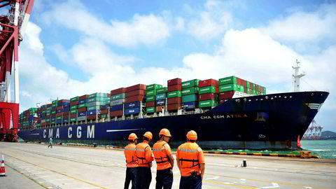 Etter to år med et fall i verdenshandelen har aktiviteten tatt seg opp i år med eksportvekst for de fleste asiatiske land.