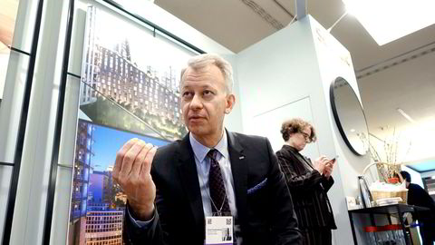 31. juli i fjor overtok Even Frydenberg roret i i Scandic Hotels. Da var aksjekursen 112 svenske kroner. Siden har kursen rast over 30 prosent, men torsdag stiger kursen kraftig.