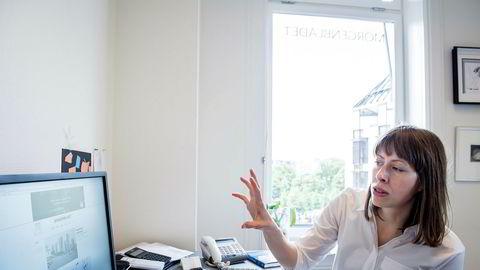 Ansvarlig redaktør Anna B. Jenssen er i konflikt med de ansatte i Morgenbladet.