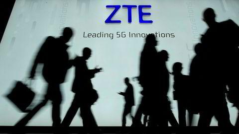 ZTE solgte produkter til Iran og Nord-Korea og aksepterte en rekordbot fra USA. Nå forbyr USA amerikanske selskaper mot å drive forretninger med det kinesiske selskapet de neste syv årene.