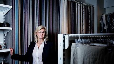Kjersti Hobøl har vært sjef for interiørkjeden Kid, her fra børsnoteringen. Nå går hun til kriserammede Nille.