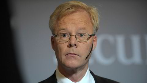 Konsernsjef Alf Göransson fikk frastjålet sin identitet.