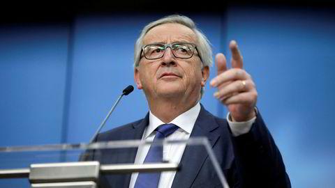 Europakommisjonens president Jean-Claude Juncker forlanger at italienerne skjerper seg.