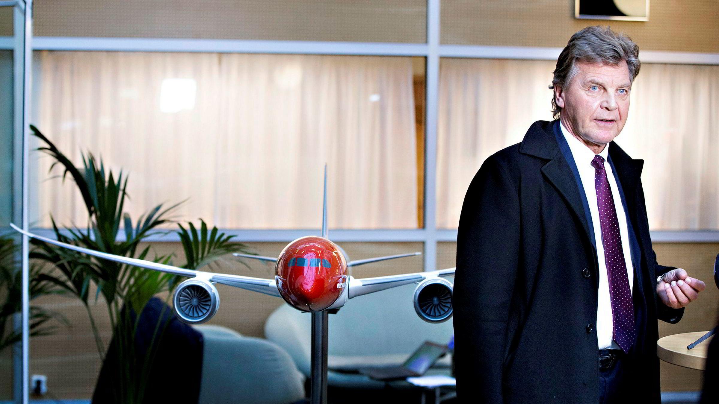 Selskapet Brumm as, som er kontrollert av Bank Norwegian-styreleder Bjørn Kise, selger aksjer i Bank Norwegian.