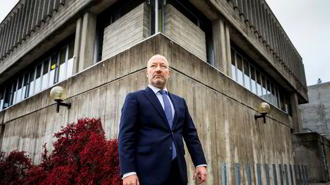 Bostyrer Andreas S. Christensen har de siste dagene jobbet med å sikre beboerne i den konkursramme institusjonen Baos et botilbud.