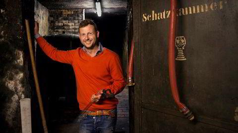 Tysk stjerne. Kai Schätzel lager enestående rieslinger i sin 800 år gamle kjeller i Nierstein.