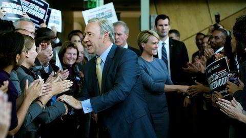 Kampen om Det hvite hus. Når ekteparet Underwood er tilbake på skjermen, må både de og andre kjempe både helt bokstavelig for livet og for sin politiske karriere.
