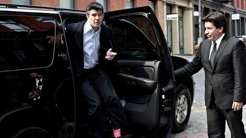 Omstridt. Travis Kalanick er sjef for verdens mest verdifulle oppstartsselskap, Uber. Selskapet startet som en luksustjeneste for limousiner, men går nå etter taxibransjen verden over.