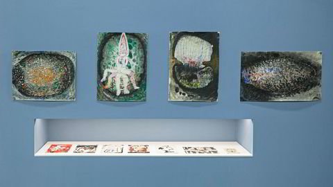 Fargerik. Sanjeewa Kumara fra Sri Lanka bidrar med «Uncanny Personality» (bildene øverst) og «Dots» (nederst).