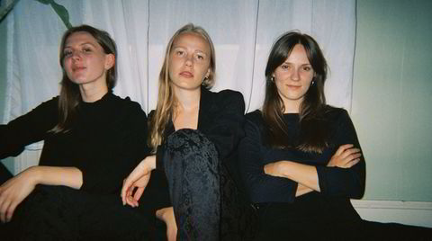 Nothing Personal består av Dorothea Økland (fra venstre), Thea Emilie Wang og Solveig Wang.