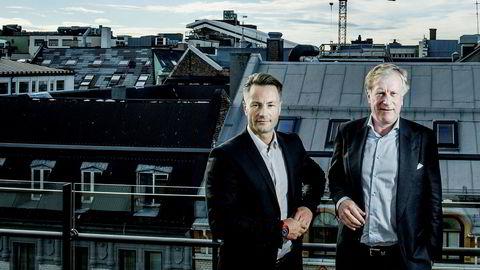 Sammen bygget Runar Vatne og Carl Erik Krefting opp et milliardimperium. Nå skal de møtes i retten.