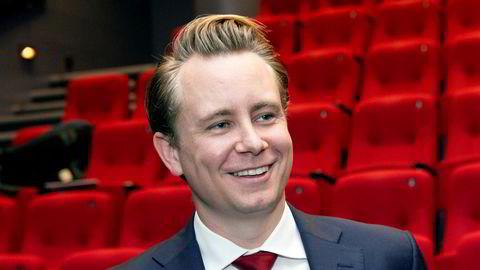 Akastor-sjef Kristian Røkke.
