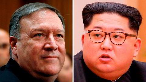 Mike Pompeo, USAs nominerte utenriksminister (ikke formelt godkjent) har vært på besøk i Nord-Korea hos Kim Jong Un.