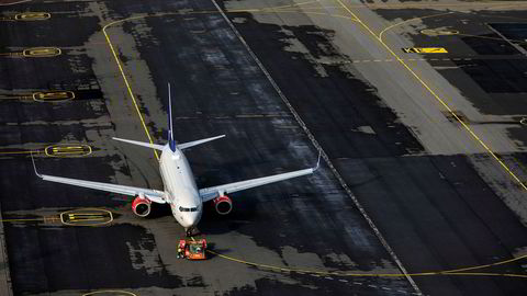 SAS gikk i november forbi Norwegian målt i passasjertall.