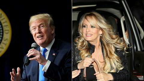 Donald Trump avviser å ha hatt et forhold med Stormy Daniels. Nå må han betale henne enda mer penger.
