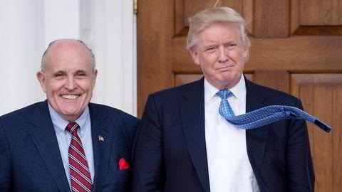 President Donald Trump og hans personlige advokat Rudy Giuliani har gjentatte ganger sagt at mer enn 600.000 stemmer i Philadelphia og Pittsburgh burde erklæres ugyldige.
