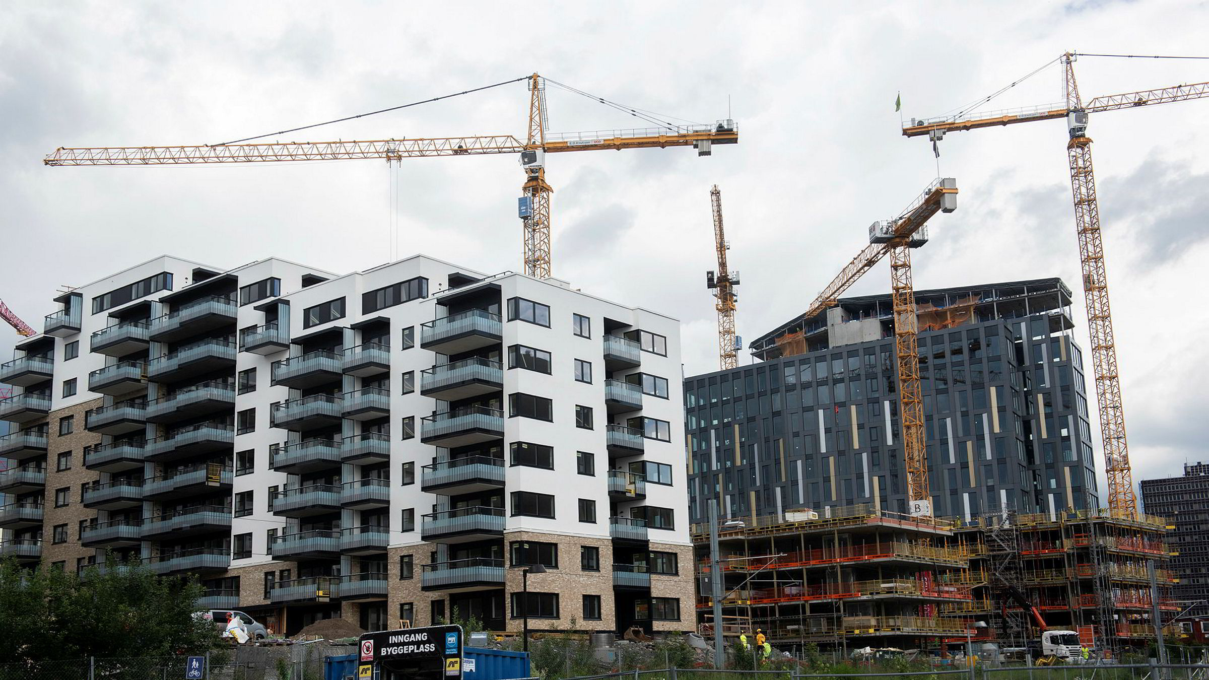 Oslo kommune vil bygge flere boliger selv.