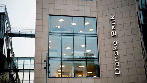 Det har stormet rundt Danske Bank siden opprullingen av hvitvaskingsskandalen i Estland. Avbildet er en Danske Bank-filial i Oslo.