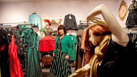 På Manillusion i Markveien på Grünerløkka i Oslo styrer de unna Black Friday og kjører Fancy Friday i stedet. – Det blir stille i gaten vår under Black Friday. Alle er på kjøpesenteret, sier butikksjef Lise Karlsen.