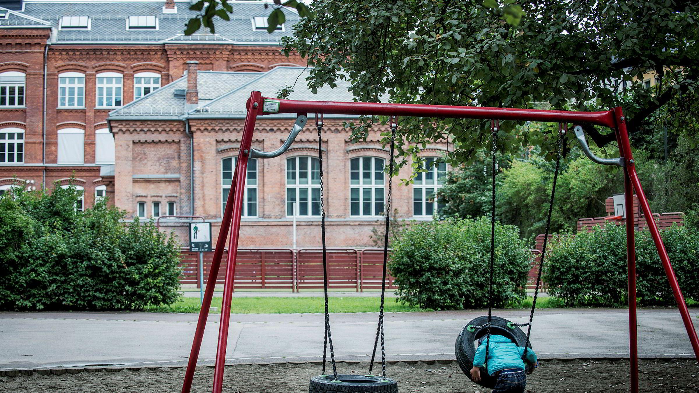 Nedre Tøyen har størst andel barnefattigdom i Oslo med en prosentandel på 63,7.