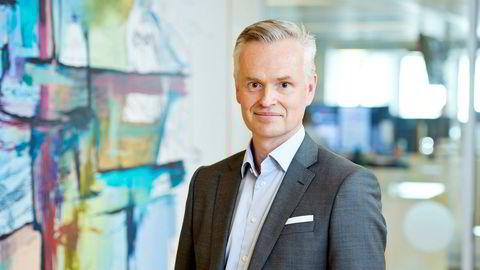 Administrerende direktør Jonas Ström i ABG Sundal Collier leverte sterke tall i tredje kvartal.