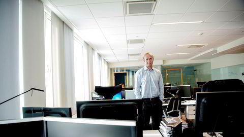Porteføljeforvalter Hans Thrane Nielsen mener aksjemarkedet ikke har grunn til å puste lettet ut helt ennå.