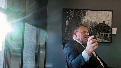 Den midlertidige sjefen Björgólfur «Bubbi» Johannsson i fiskeselskapet Samherji fastholder at selskapet ikke har bidratt til økonomisk kriminalitet. Denne uken var han innom advokatfirmaet Wikborg Rein i Oslo, som bistår selskapet med en intern granskning.