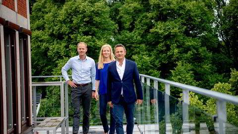 Administrasjonssjef Hanne Bismo Mustad og administrerende direktør Thomas Høgebøl i The North Alliance kjøpes opp av partner Henning Vold i oppkjøpsfondet Norvestor for en sum DN erfarer overstiger en milliard kroner.