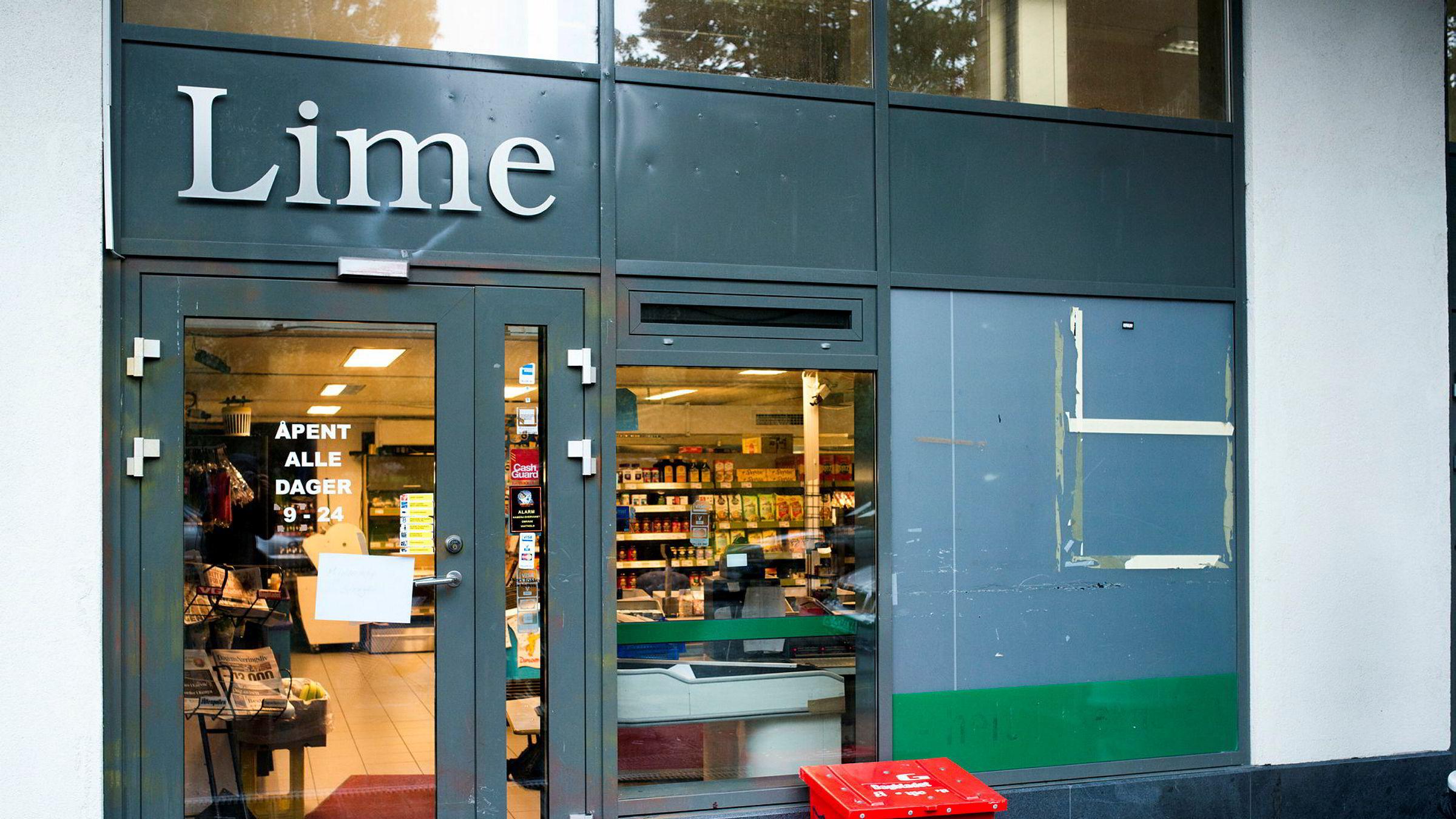 Høsten 2014 aksjonerte sivilt politi mot Lime-butikken i Jens Bjelkesgate 71, som en del av en større aksjon mot kjeden og dens eiere.