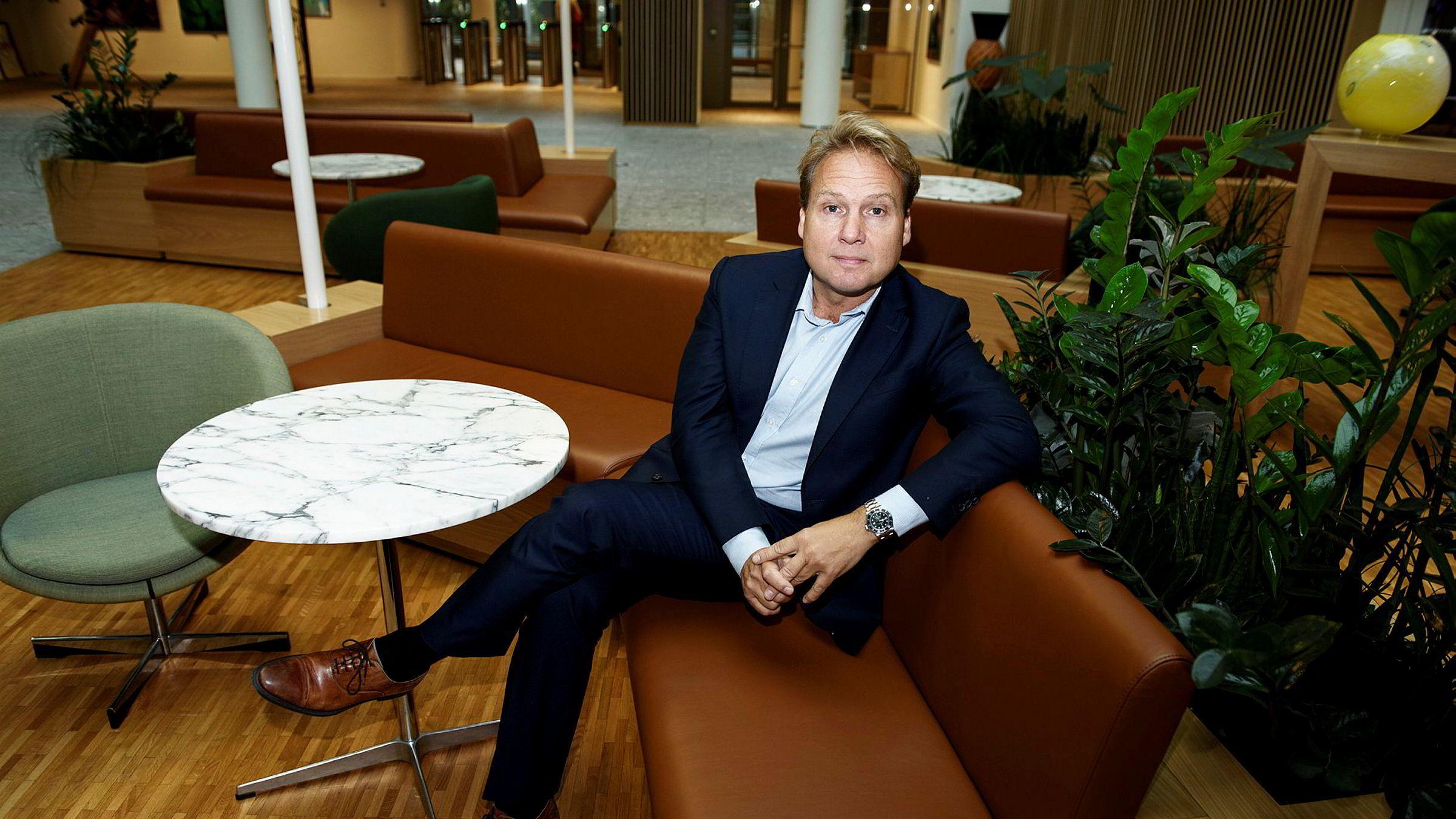 John Sætre er leder for personmarkedet i Nordea Norge.